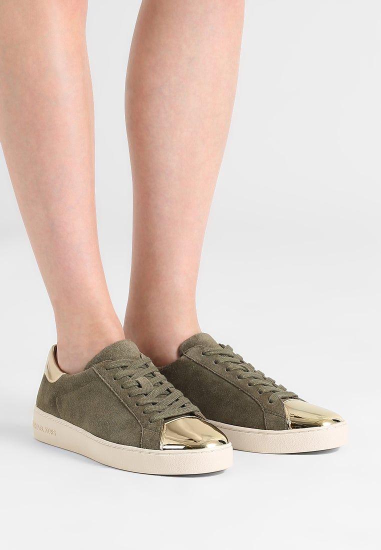 8ea3a0b80bd MICHAEL Michael Kors FRANKIE - Sneakers - olive/pale gold - Zalando ...