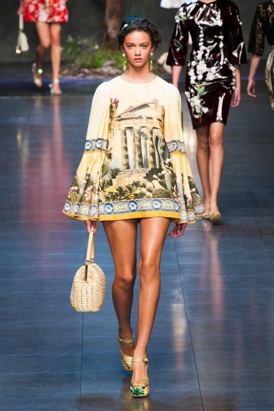Striped Slip On Spring/summerDolce & Gabbana n2fAy