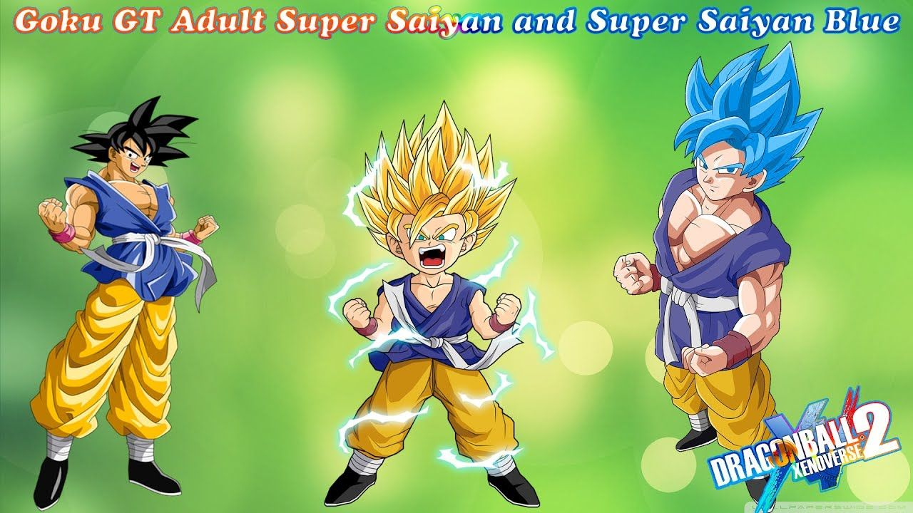 What If Goku Adult GT Transformable To SSJ and Super ...