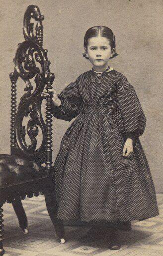 Time Traveling In Costume Little Girls Civil War Dresses Vintage
