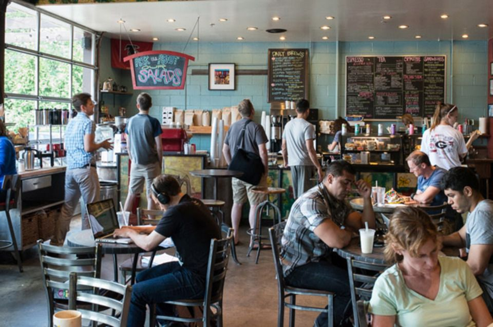 Rev Coffee in Smyrna, Eclectic coffee shop which