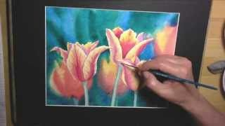 Beautiful Watercolour Instruction Videos By Alina Kurbiel