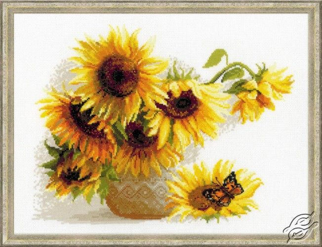 Hot Summer - Cross Stitch Craft Kits by RIOLIS - 1488