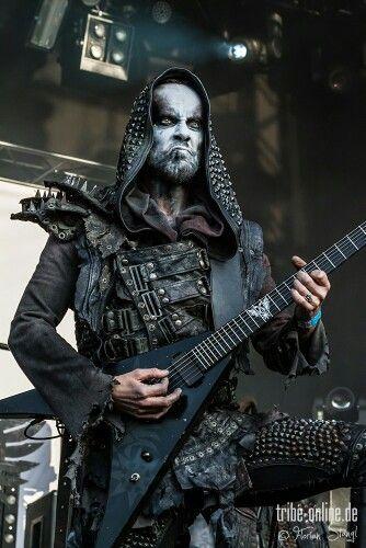 Nergal Of Behemoth Metal Pinterest Metals Black