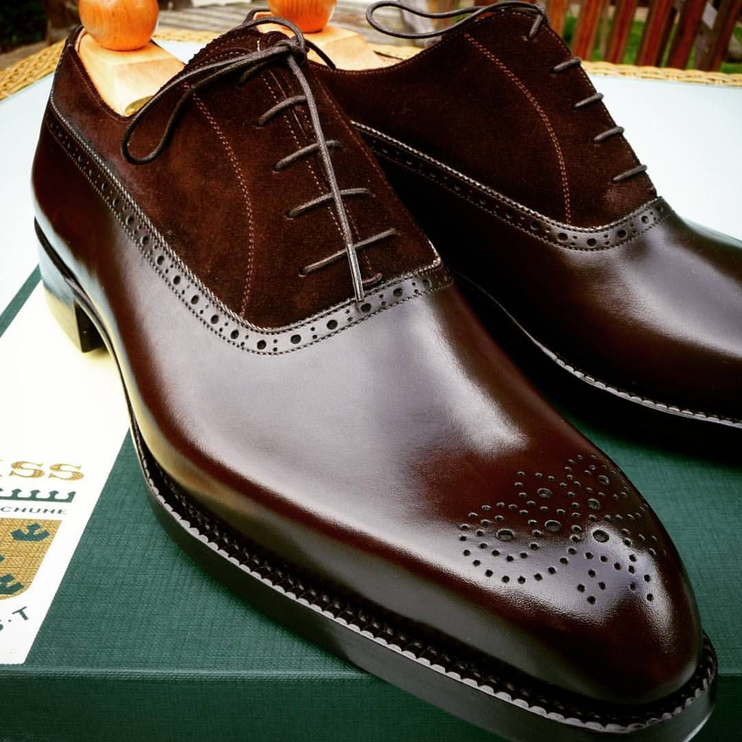 separation shoes b4310 84654 Ascot Shoes — Close up of the grade A French Calf used on the... Find this  Pin and more ...