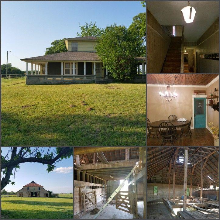 James chandler home built in 1918 and barn built 1917 ne