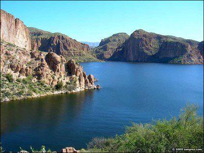 Apache trail -Canyon Lake