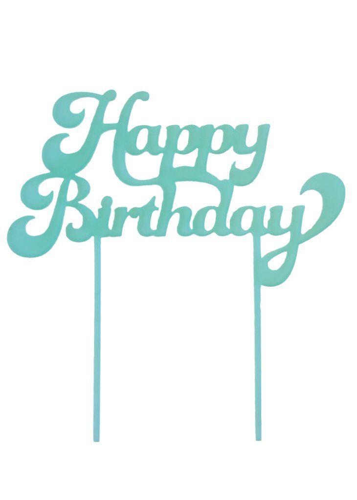 Happy birthday cake topper birthday cake topper