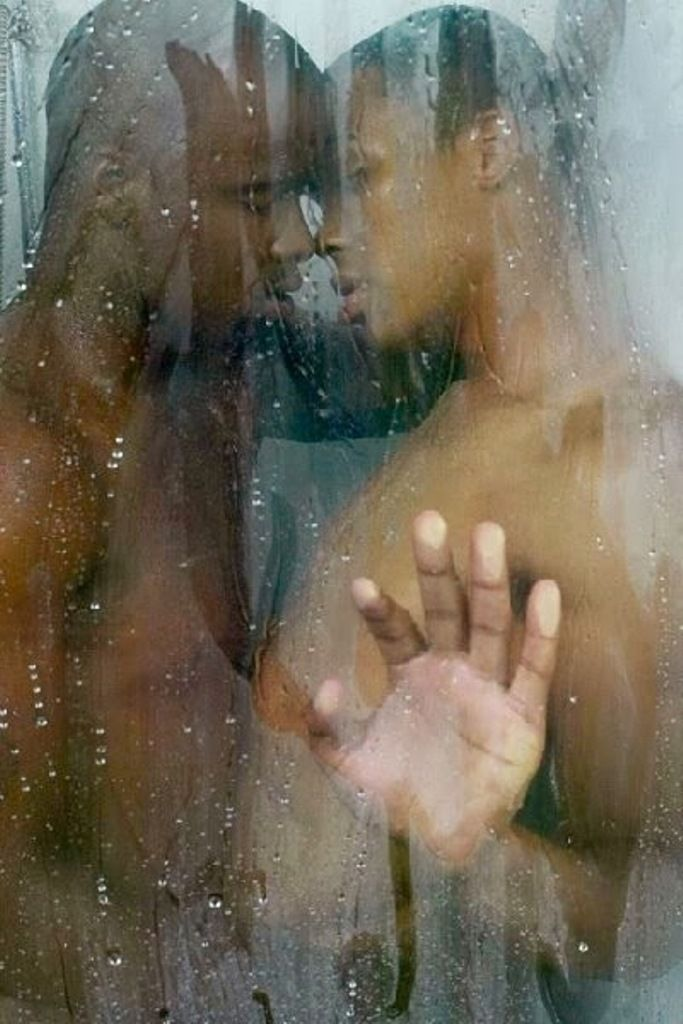 Gay blacks in shower