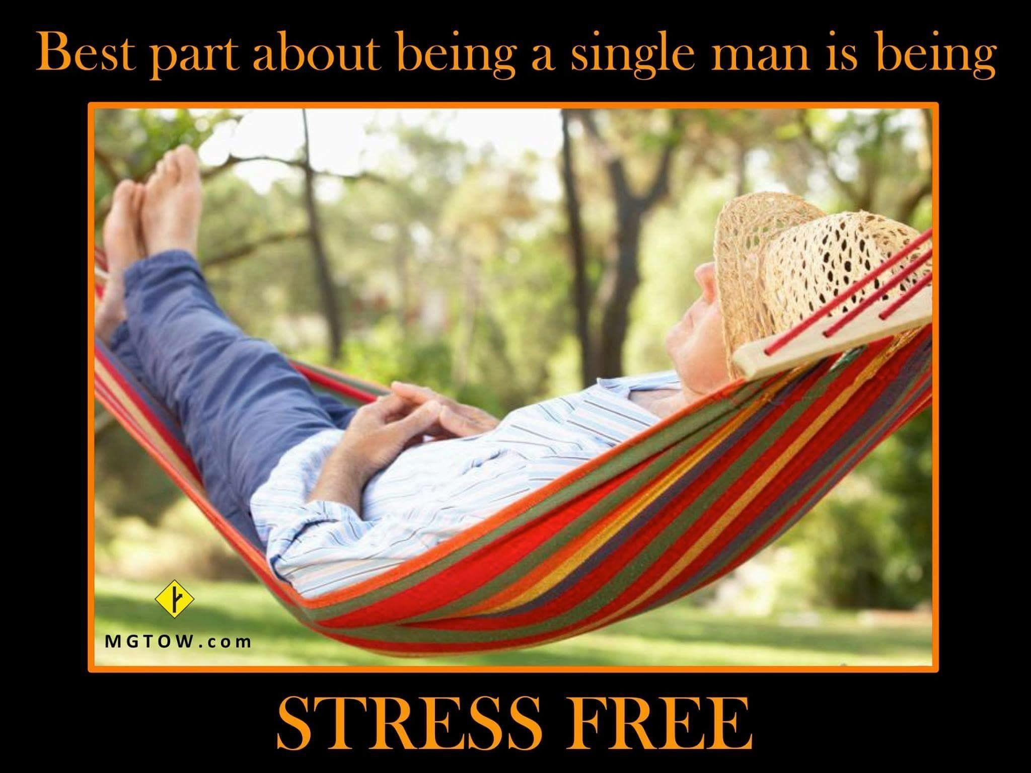Single men live happier and longer #mgtow | Desired