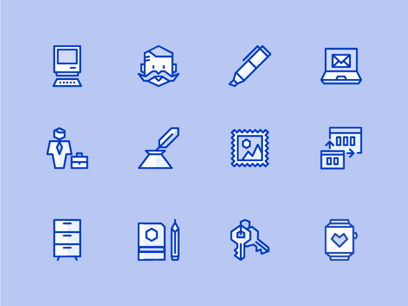Ego Icons Color Best Icons Icon Planner Template