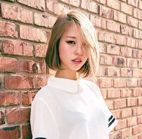 Pretty Korean Short Hairstyles 2017 For Women