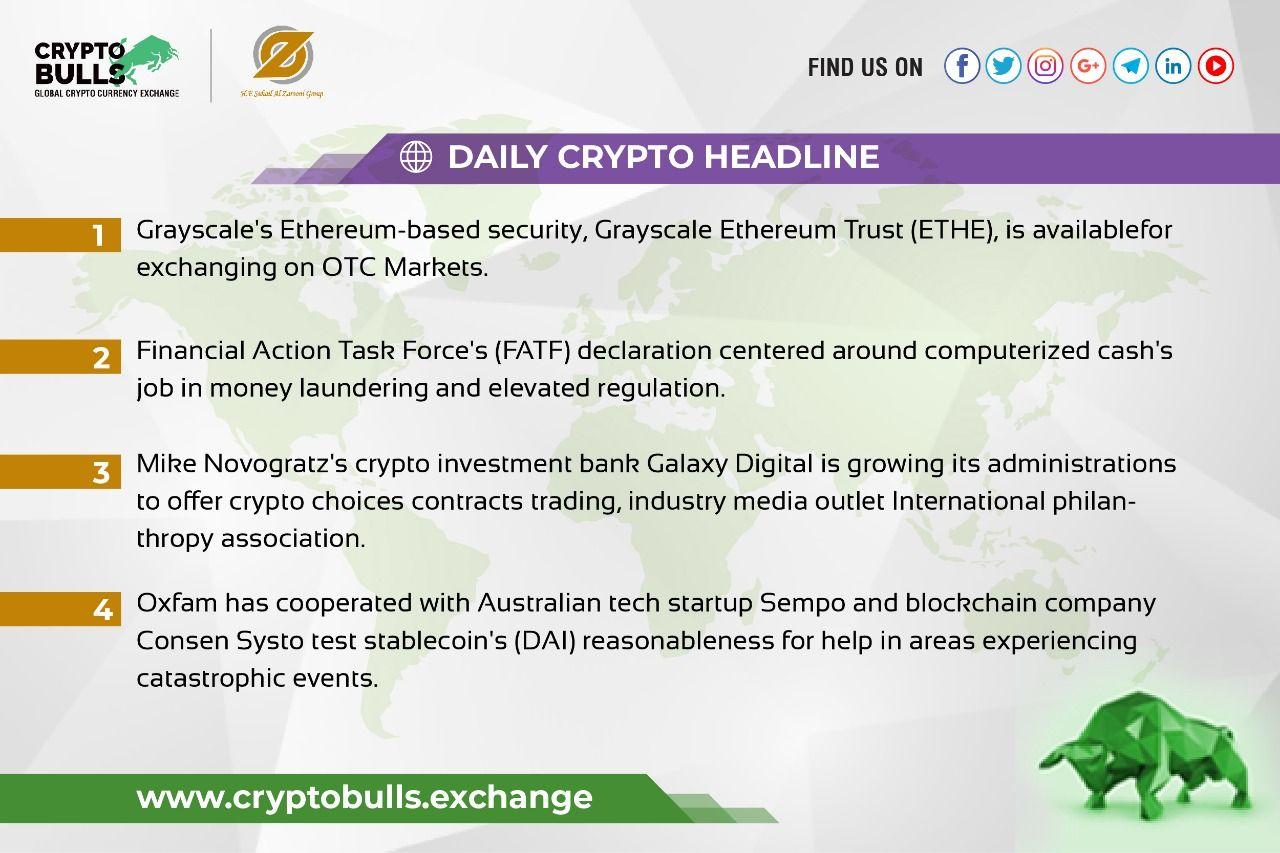 Daily Crypto Headline Best crypto, Exchange
