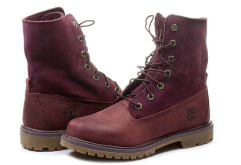 df3c632b8777 Timberland Boty Authentics Suede Roll Top