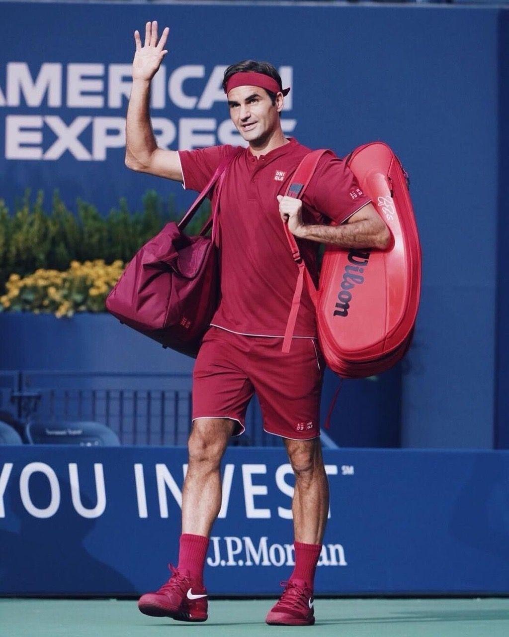 Roger Federer Usopen Tennis Roger Federer Rf Us Open Roger Federer Tennis Clothes Tennis Fashion