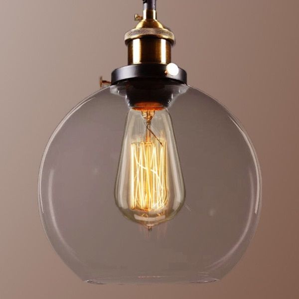 Overstock Pendant Lights New Maisie 8Inch Adjustable Height Edison Pendant With Bulb  Overstock Decorating Design