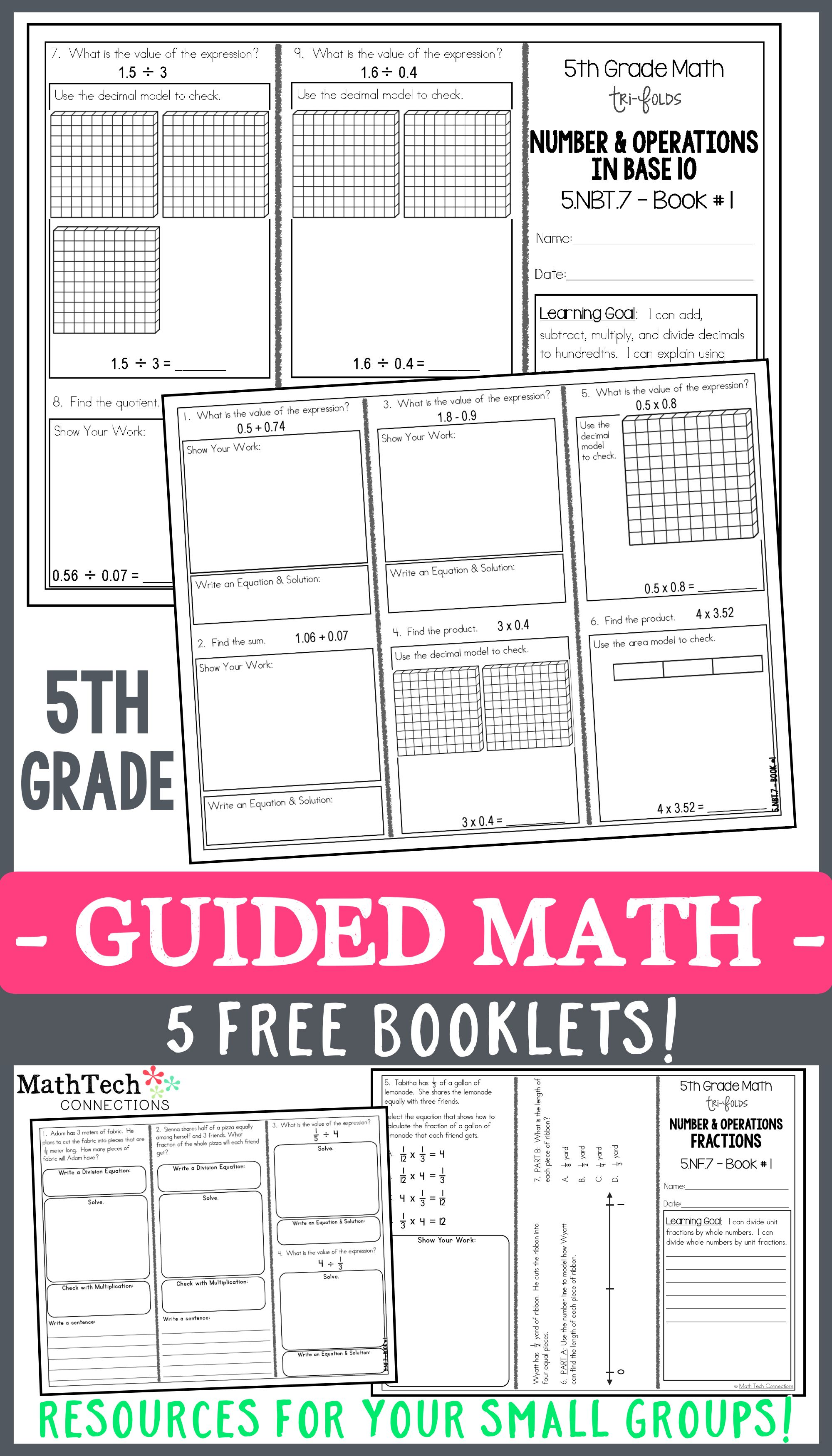 5th grade math trifolds 5 free booklets 5th grade maths 5th grade maths fifth grade math. Black Bedroom Furniture Sets. Home Design Ideas