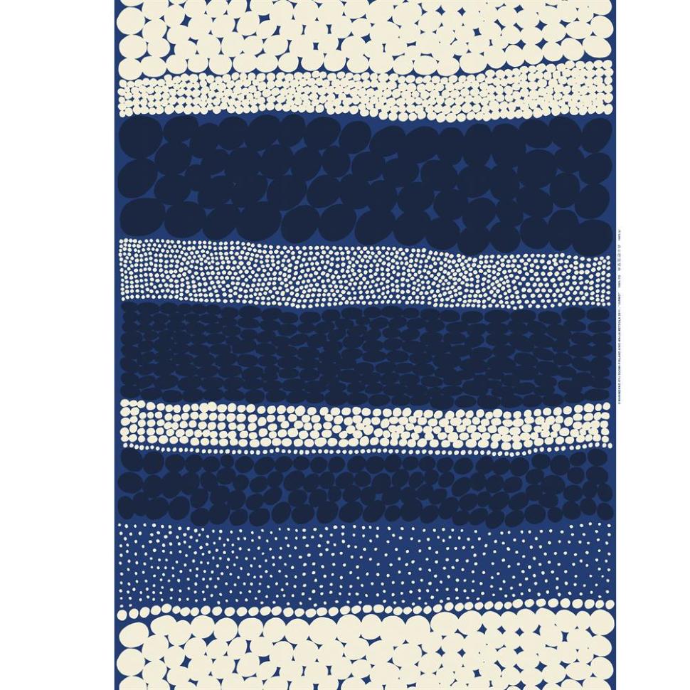 Jurmo fabric-blue-white
