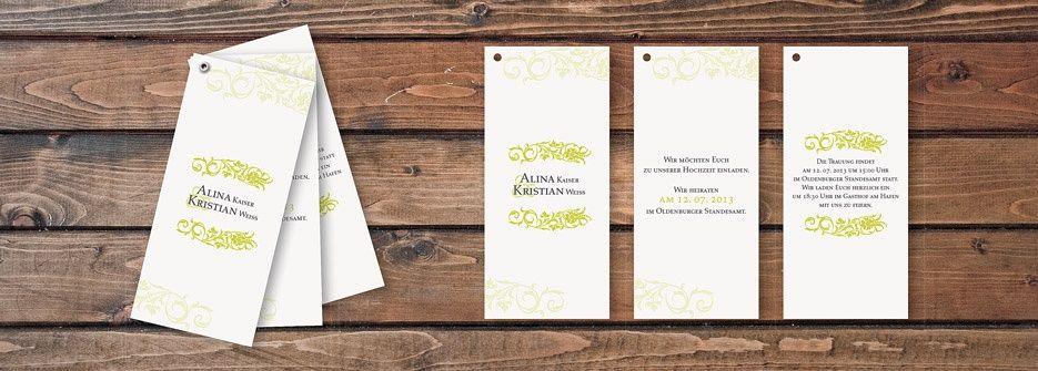 Einladungskarte Design Verbundenheit Fächerkarte #Hochzeitskarten # Einladungskarten #Fächerkarten #CHILIPFEFFERdesign Http://