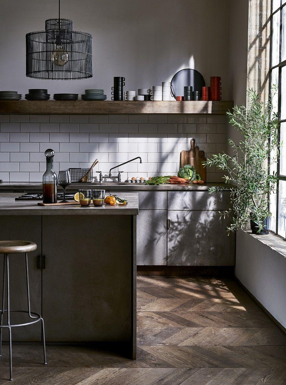 An Industrial Style Kitchen - Get The Look - Dear Designer