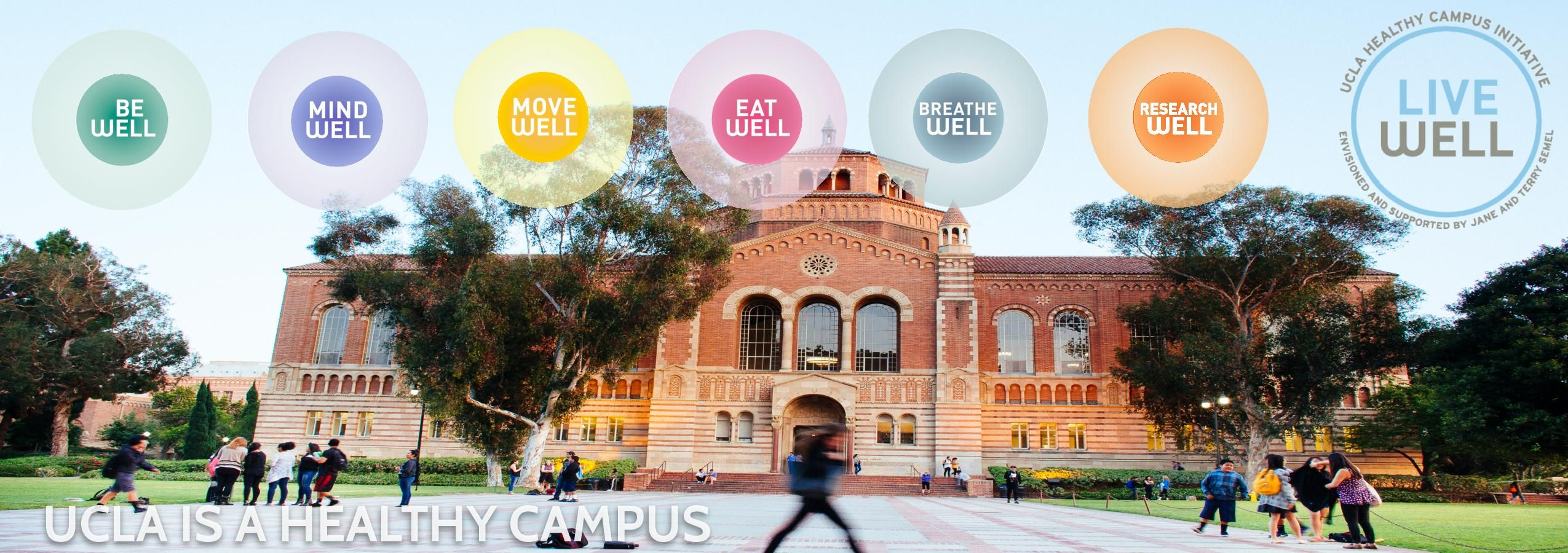 What's New with the Healthy Campus Initiative? UCLA Live