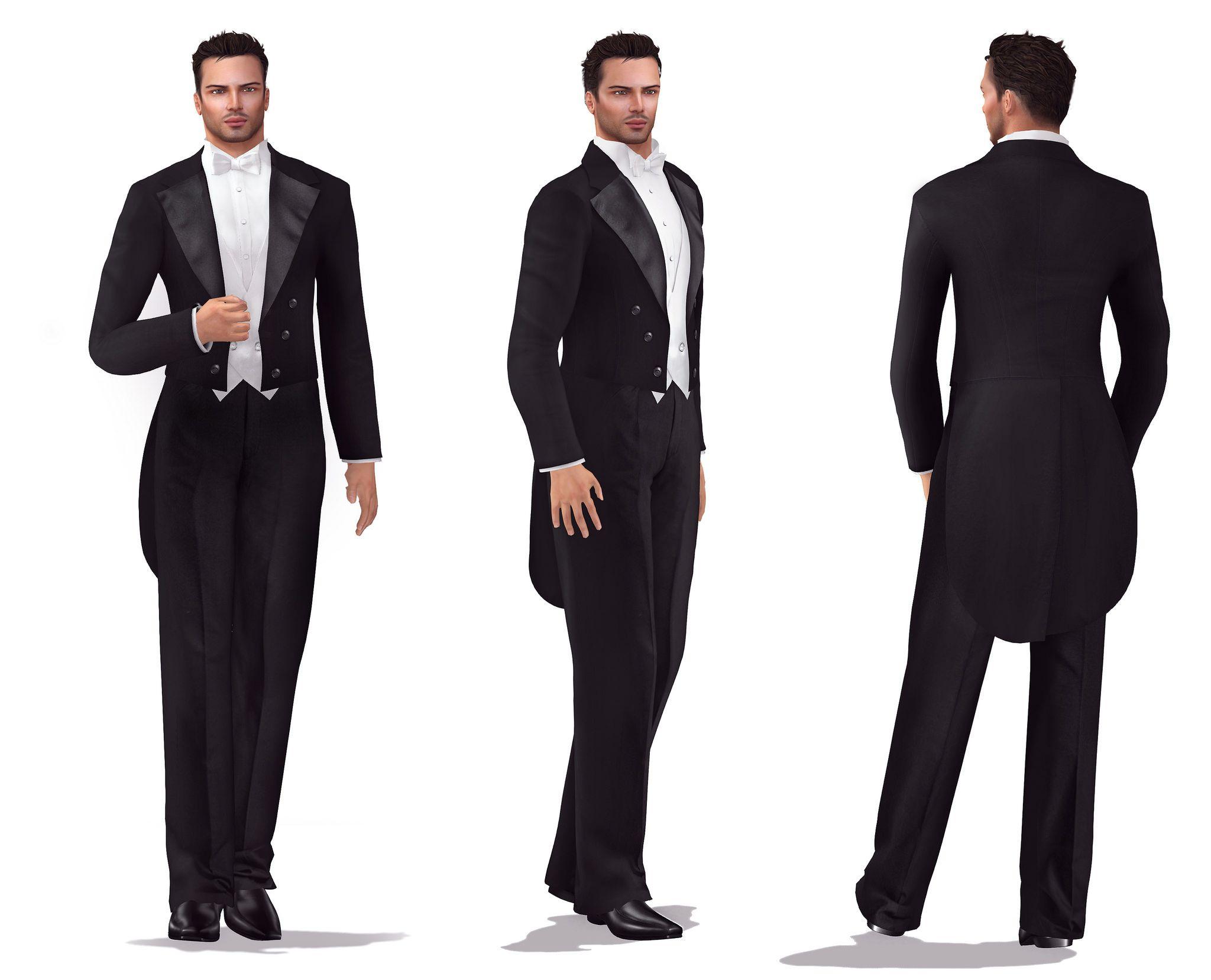 Long Tail Tuxedo Suit Wedding suits, Tuxedo for men