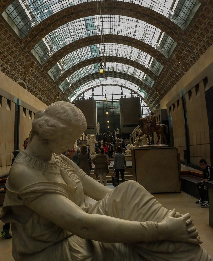D'Orsay museum entrance and spending a perfect day in Paris http://travelphotodiscovery.com/spending-a-perfect-day-in-paris