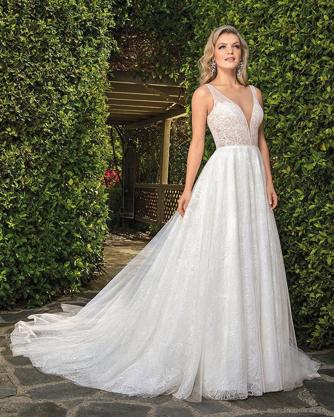 Casablanca Bridal On Instagram Style 2353 Kayla Is Our Heart