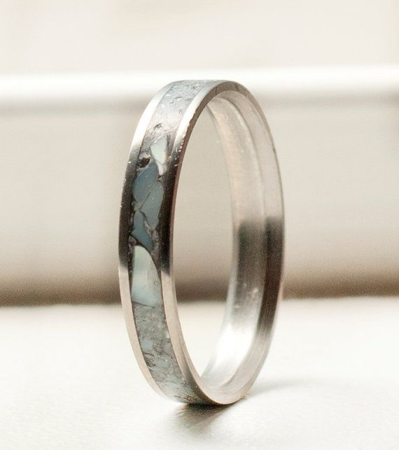 Women S Wedding Band With Mother Of Pearl Inlay Stacking Etsy In 2020 Pearl Wedding Bands Womens Wedding Bands Mens Wedding Bands