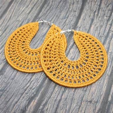 Free Crochet Hoop Earring Patterns | Projects to Try | Pinterest ...