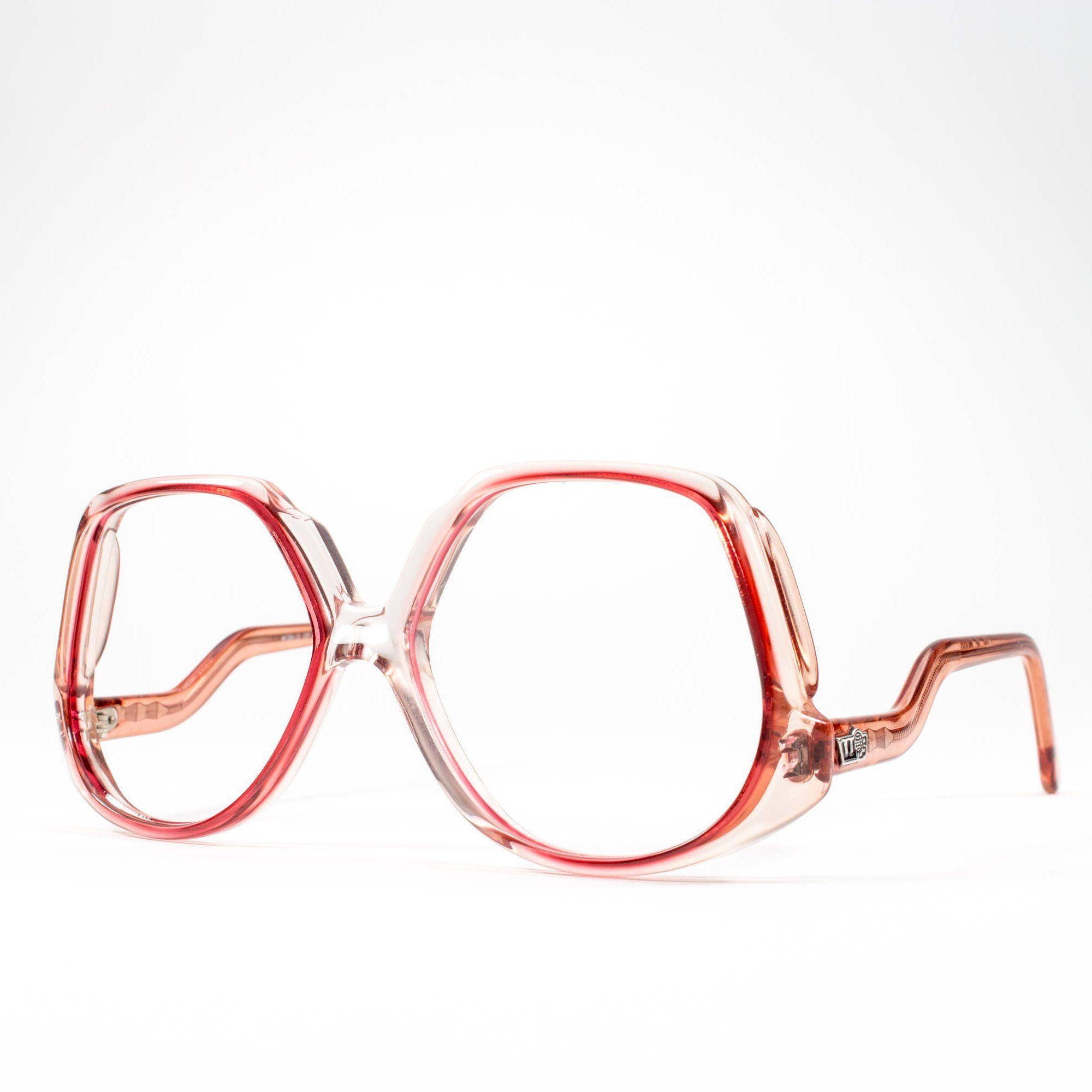 70s Glasses Vintage Eyeglasses 1970s Oversized Glasses Frames 1970s Deadstock Mood Che 70s Glasses Oversized Glasses Frames Eyeglasses Frames For Women