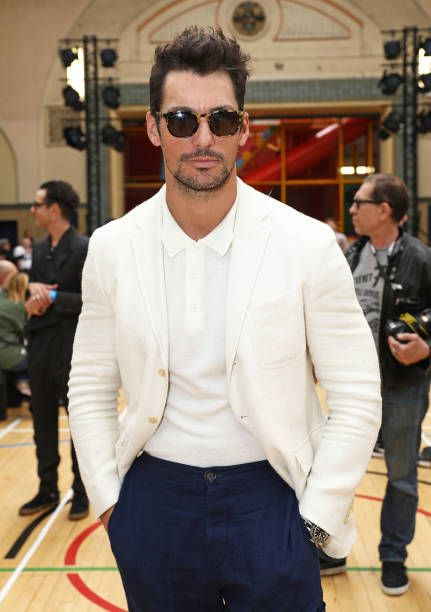 David Gandy attends the Vivenne Westwood SS18 show during the London Fashion Week Men's June 2017 collections on June 12 2017 in London England