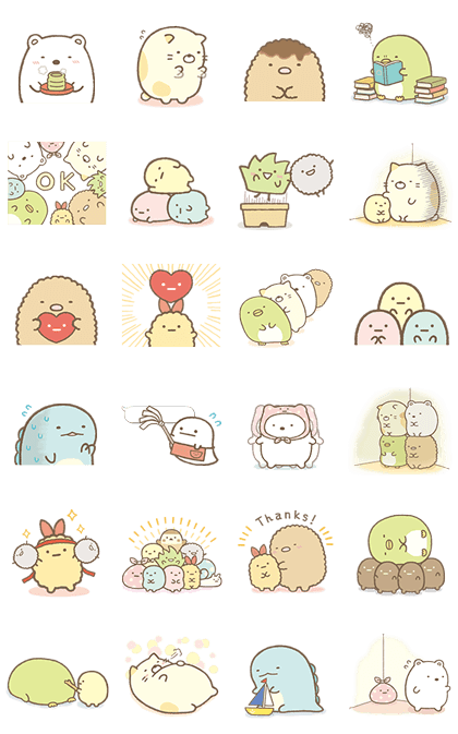 Sumikko Gurashi More Animated Than Ever Cute Stickers Kawaii Stickers Journal Stickers