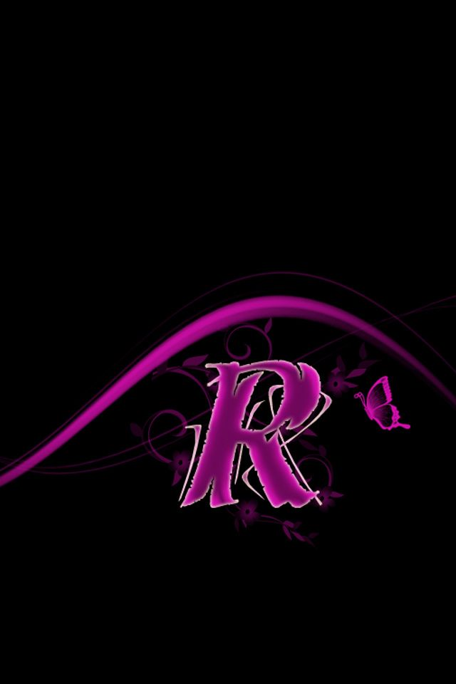 Download Free Designs Wallpaper Pink R With Size 640x960 Pixels For Iphone Alphabet Wallpaper Iphone Background Roses R Letter Design