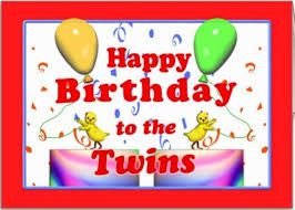 Happy Birthday Wishes Images With Quotes And Text Messages For Twins