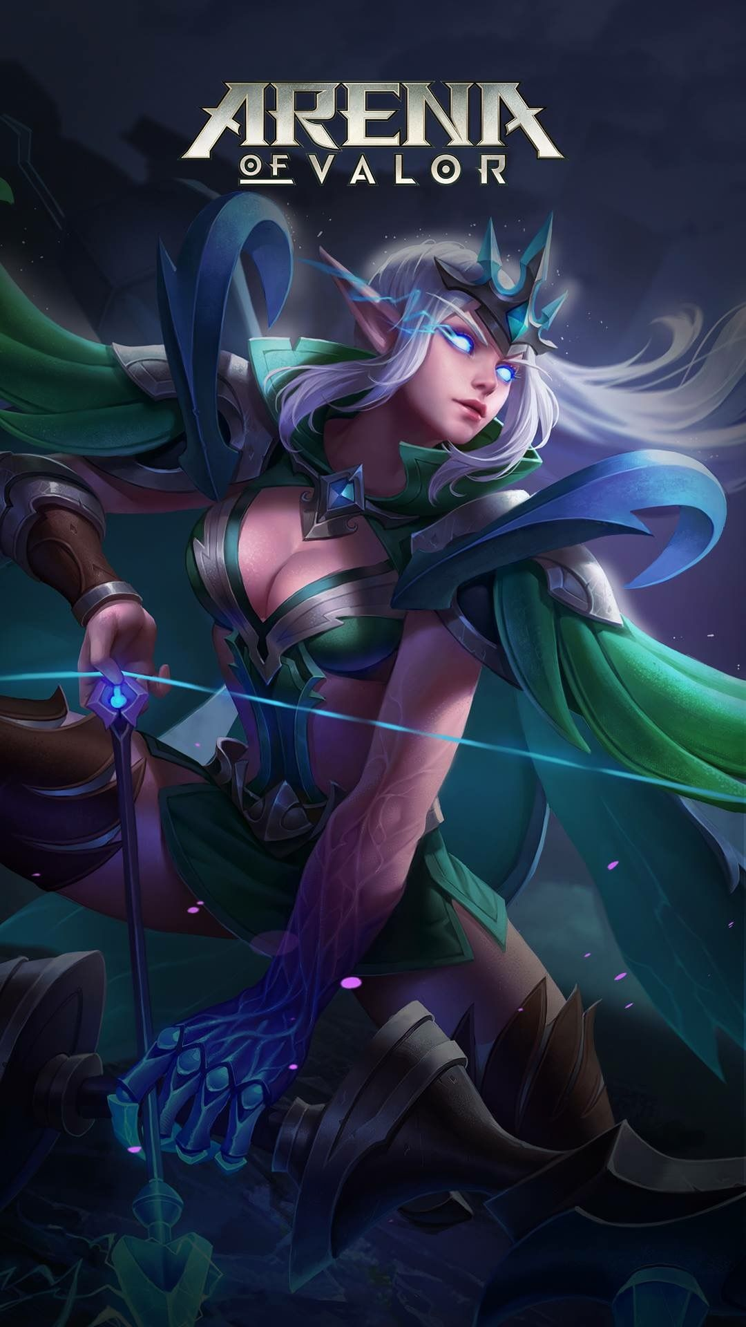 Tel Annas Mobile Legends Game Character Character Design League Of Legends Archer