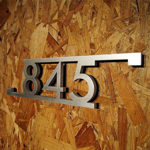 die besten 25 hausnummer zeichen ideen auf pinterest. Black Bedroom Furniture Sets. Home Design Ideas