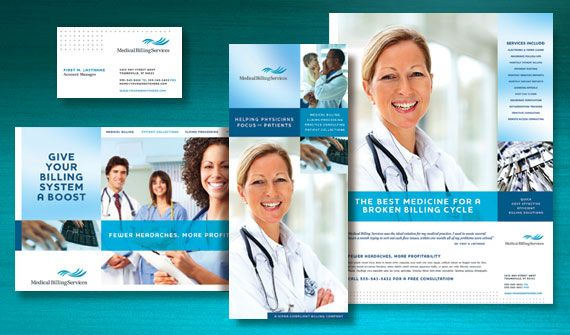 Reform Your Medical \ Healthcare Billing Marketing Materials with - medical brochure template