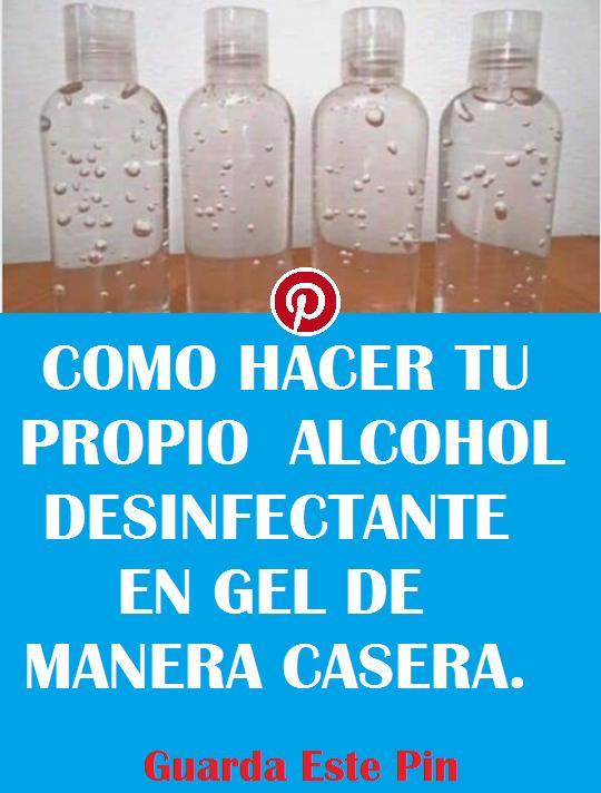 Tú Puedes Hacer Tu Propio Alcohol Hoy Aprendo Alcohol Bottle Gel