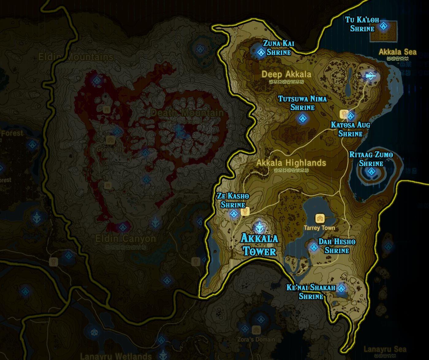 Zelda: Breath of the Wild shrine maps and locations - Polygonclockmenumore-arrownoyespoly-lt-wire-logo : Breath of the Wild shrine maps and sh ...