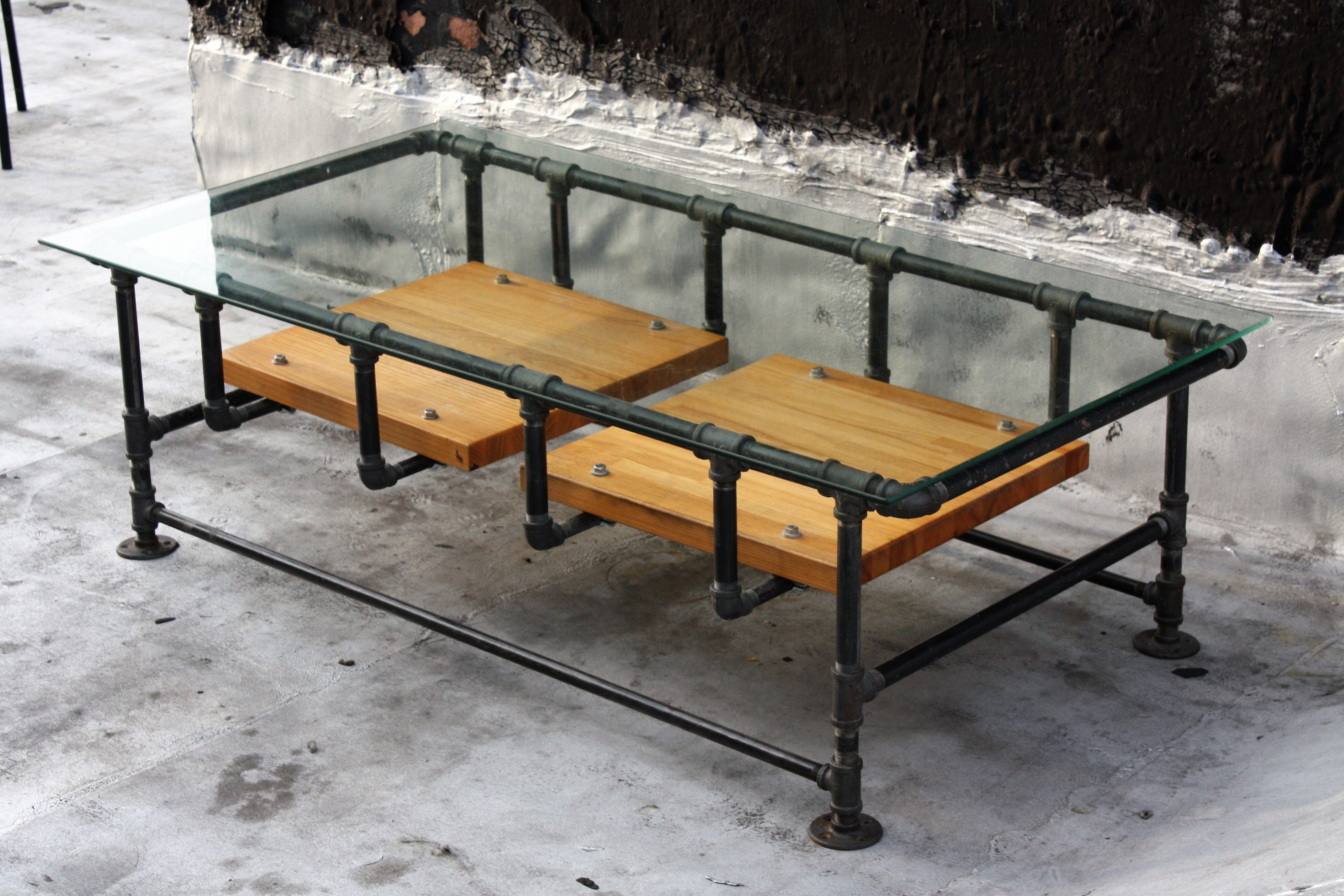 Superieur Industrial Pipe Coffee Table