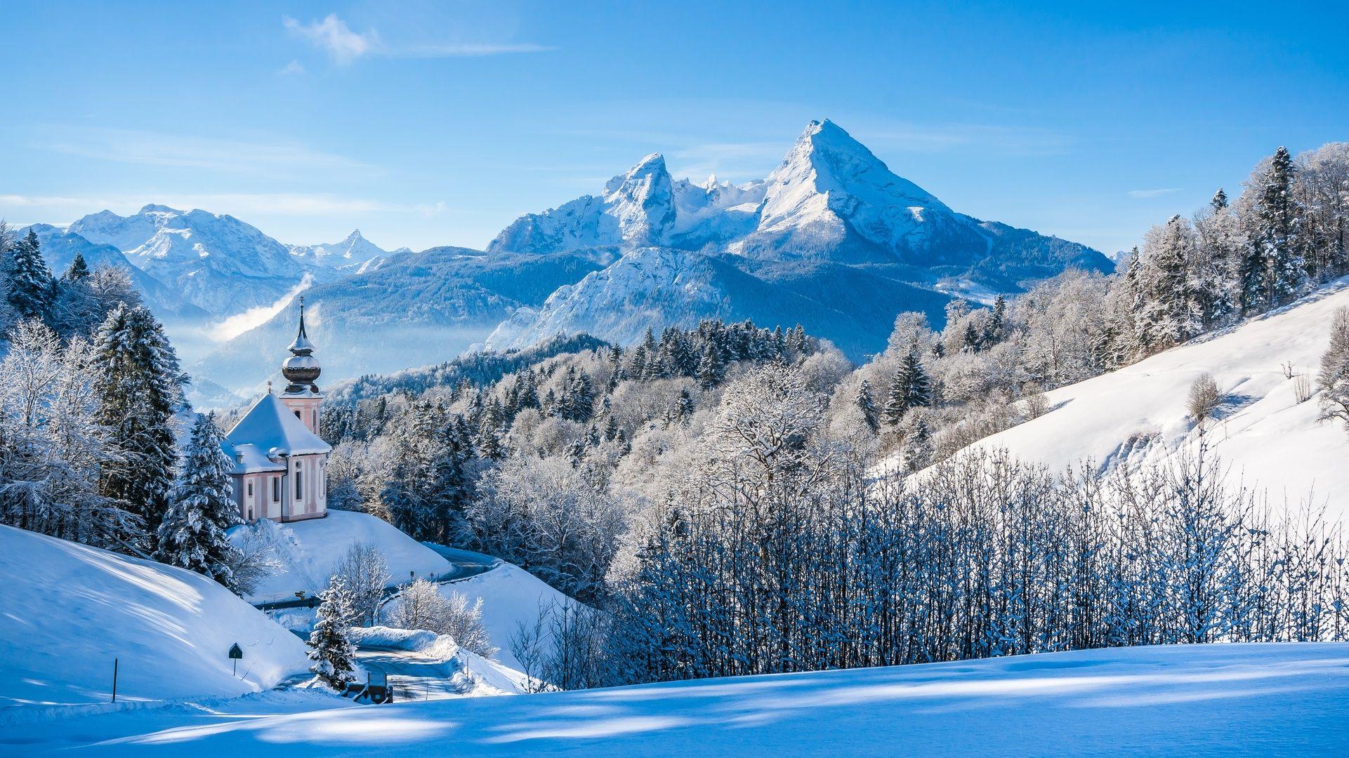 Landscape 4k Ultra Hd Wallpaper Winter Landscape With Snow