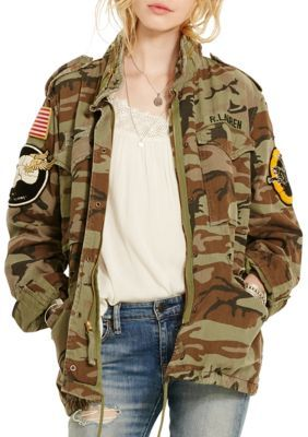 e85dfba51be6e Denim Supply Ralph Lauren Camo Patch Field Jacket   Products in 2019 ...