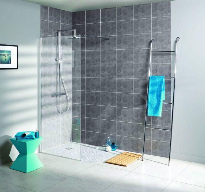 qu elle douche l italienne choisir salle de bains pinterest douche salle de bain et. Black Bedroom Furniture Sets. Home Design Ideas