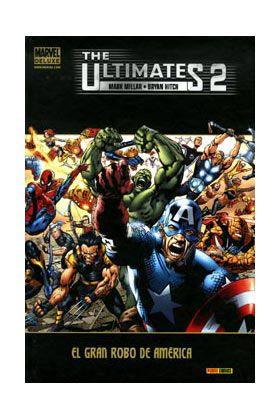 Cómic The ultimates 02. El gran robo de America (Marvel Deluxe)