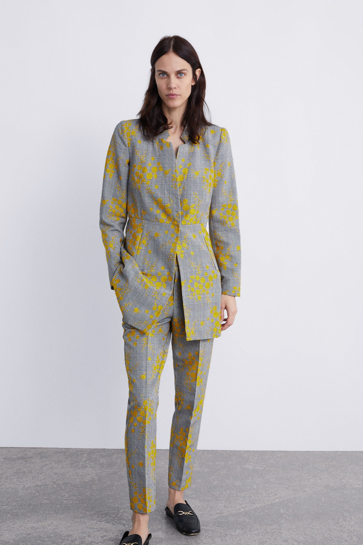 INVERTED LAPEL FROCK COAT | Frock coat, Coat, Yellow blazer