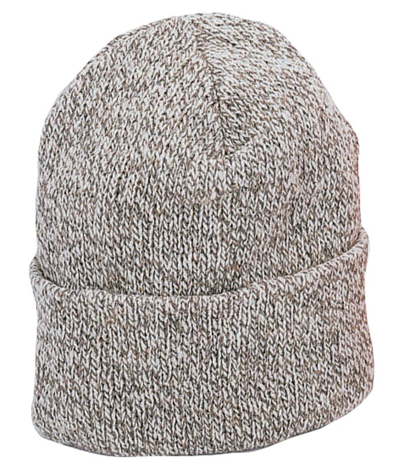 Ragg Wool Winter Watch Cap Cold Weather Soft Snug Comfy Snow Ski Hat USA Made