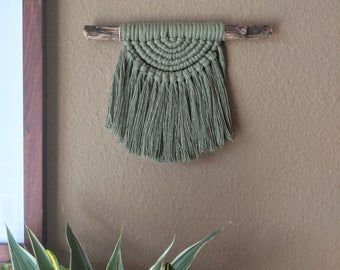 Makramee Wand behangen. Geschenk für sie Boho Wohnkultur | Etsy