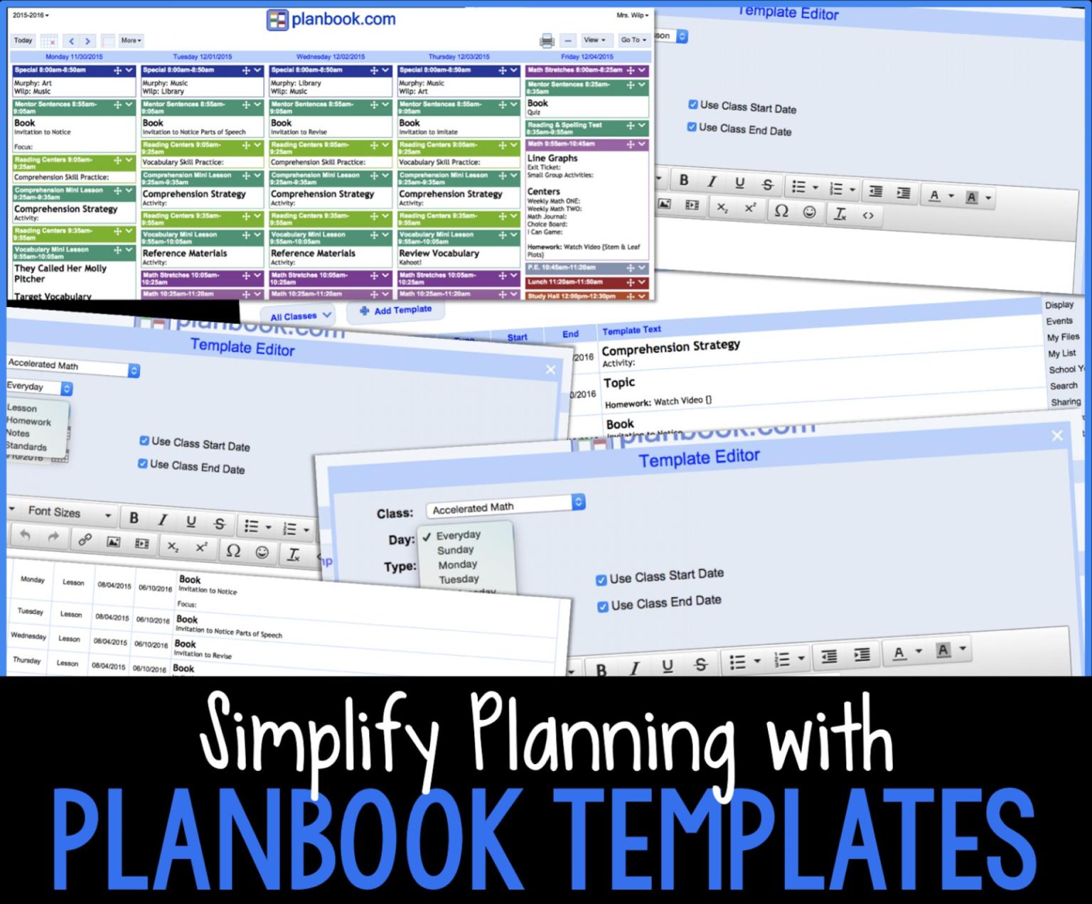 042 Template Ideas Lesson Plan Book Templates Incredible