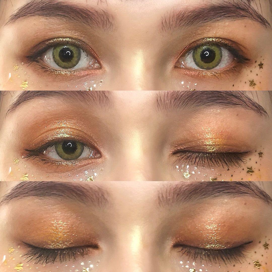 Stardust Glitter Makeup Glitter makeup, Makeup, Star makeup